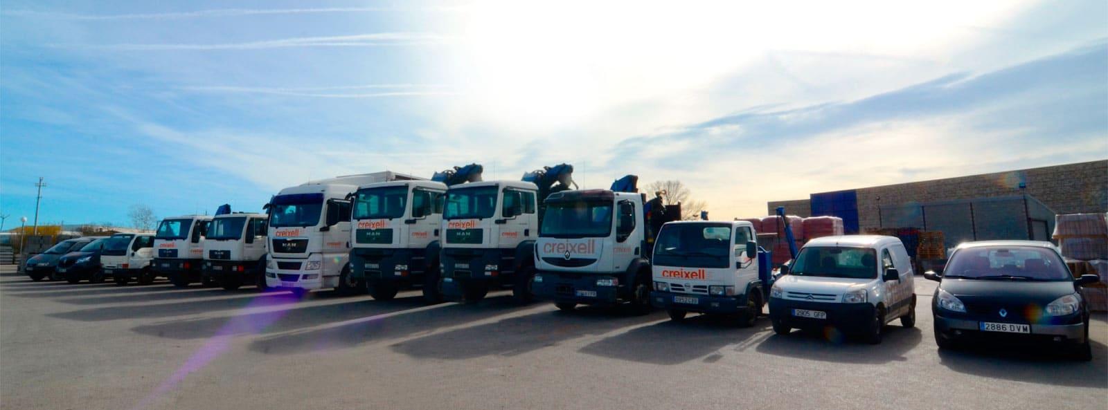 transport de materials de construcció